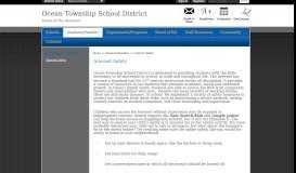 Internet Safety / Internet Safety - Ocean Township School District