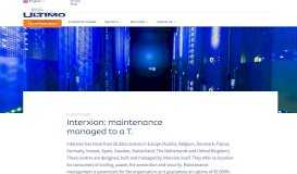 Interxion - Ultimo Software Solutions