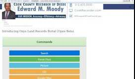 Introducing Onyx Land Records Portal - Cook County Recorder of Deeds