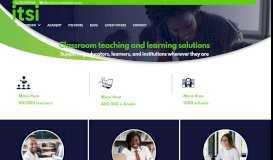 ITSI: Home Page | E-learning Provider | E-books for Schools