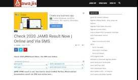 Jamb 2019 Result is OUT! How to Check JAMB Result 2019 Online