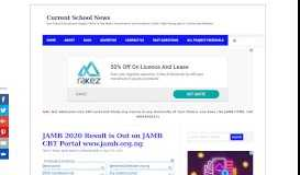 JAMB 2019 Result is Out on JAMB Portal www.jamb.org.ng - Check Now