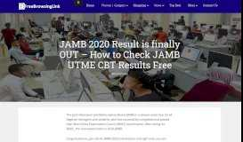 JAMB 2019/2020 Result is Out - How to Check JAMB UTME CBT ...