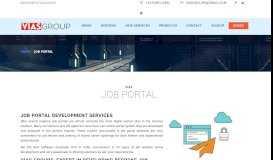 Job Portal - Vias Groups