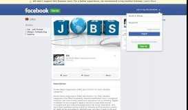 Jobs on Facebook - DA