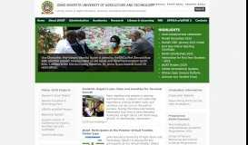 Jomo Kenyatta University of Agriculture and Technology -