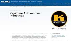 Keystone Automotive Industries - LKQ