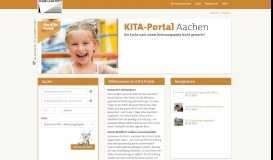 KiTa-Portal Aachen :: Child care :: Finding Daycare center places and ...