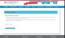 Know Your Application Status | SCDL Pune