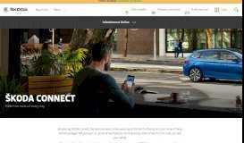 ŠKODA Connect | ŠKODA UK