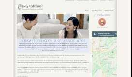 Kramer OB/GYN and Associates: Home