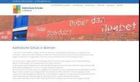 kshb.de – Portal der Kath. Schulen in Bremen