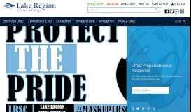Lake Region State College: Homepage