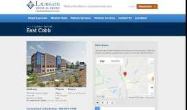 Laureate Medical Group > Locations > East Cobb