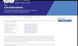 Law Enforcement   Leaseweb