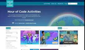 Learn - Hour of Code