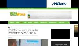 LEMKEN launches the online information portal LEONIS ...