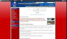Library - Links - Ambrose Elementary School