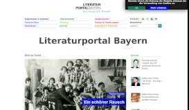 Literaturportal Bayern