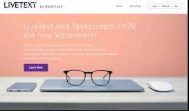 LiveText by Watermark
