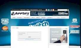Login | iPhone & iPad Game Reviews | AppSpy.com