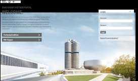 Login Partner Portal of the BMW Group