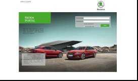 Login - SKODA Online Dealer Portal