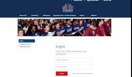 Login - St. Thomas University