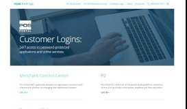Logins - POS Portal