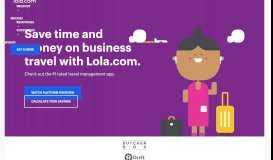 Lola Corporate Travel - Lola.com