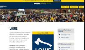 LOUIE | Northern Arizona University