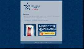 LSCS Portal Page