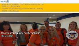 Mace's Lane Middle School - Dorchester County Public Schools
