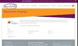 Mammoth Hospital