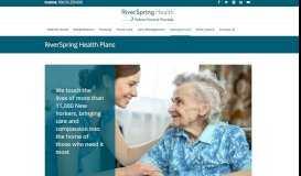 Managed Care - RiverSpring Health Nursing Home, Rehabilitation ...