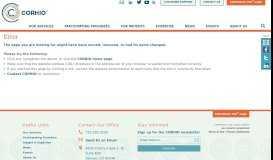 MAPIR Portal Update: Payee Information Error - CORHIO