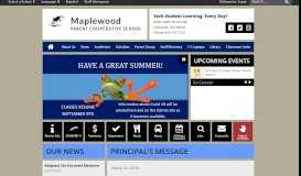 Maplewood Parent Cooperative School: Home