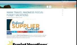 Mark Travel Madness Focus: Funjet Vacations | Become a Travel ...