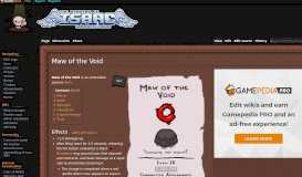 Maw of the Void - Binding of Isaac: Rebirth Wiki