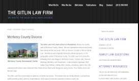 McHenry County Divorce | The Gitlin Law Firm Attorney