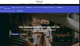 Medallia | The Enterprise Customer Experience Management Platform