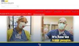 MedStar Health: Home