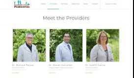 Meet The Providers | Sanders Court Pediatrics