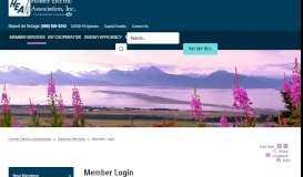 Member Login - Homer Electric Association Inc