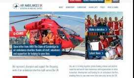 Member Map - Association of Air Ambulances