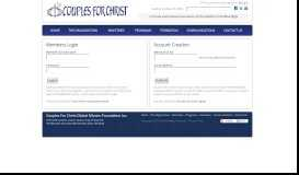 Members Portal - Couples For Christ Global Mission Foundation Inc.