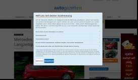 Mercedes A-Klasse: Rentner-Mobil mit Langzeitqualität - Autogazette.de
