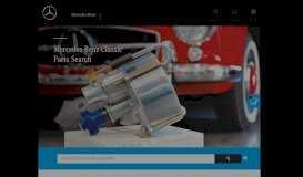 Mercedes-Benz Classic Ersatzteile