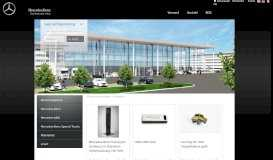 Mercedes-Benz Retailworld: Startseite