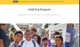 Metro Student Field Trip Program - LA Metro Home